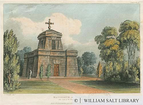Mausoleum at Trentham, (the Seat of the Marquis of Stafford).