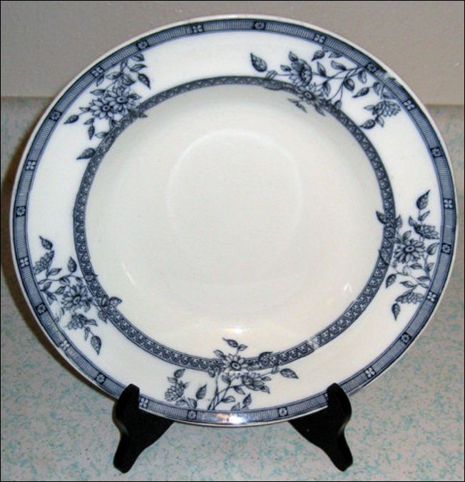 plate by James Gildea in the Marguerite pattern