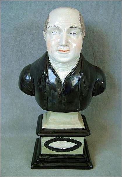 Bust of the Primitive Methodist Preacher, William Clowes by Barker, Sutton & Till