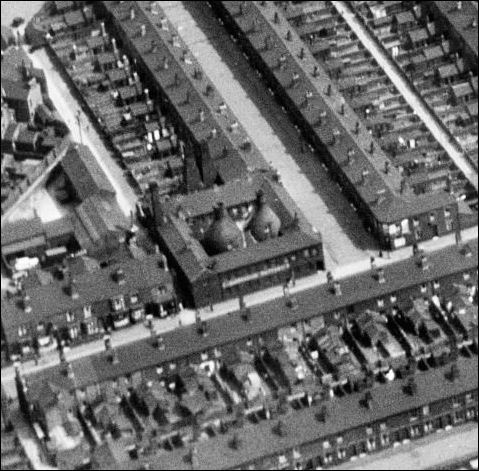 the works in 1935 - Londale Street to the front