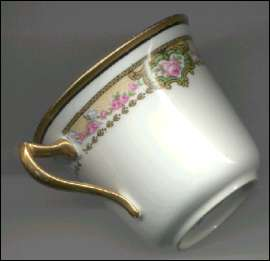 China cup made by Blyth Porcelain