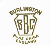 Burlington Bone China England - BBC