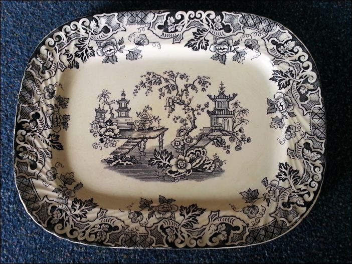 Hulse & Adderley platter - the pattern is CANTON