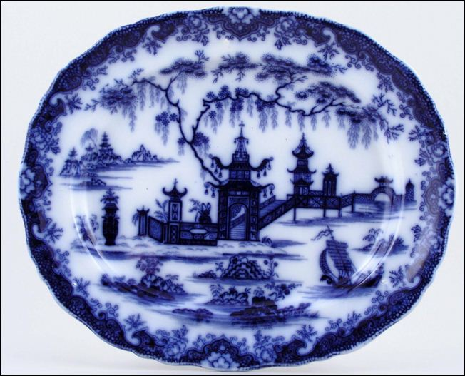 platter in the Whampoa pattern