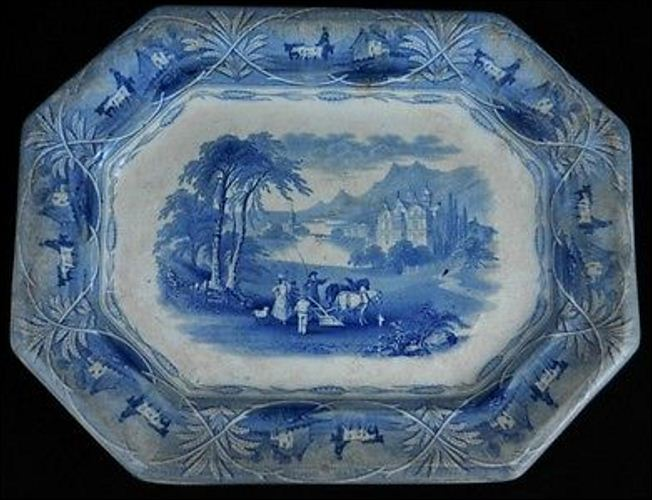 platter with the same UNION pattern - but produced by Venables & Baines