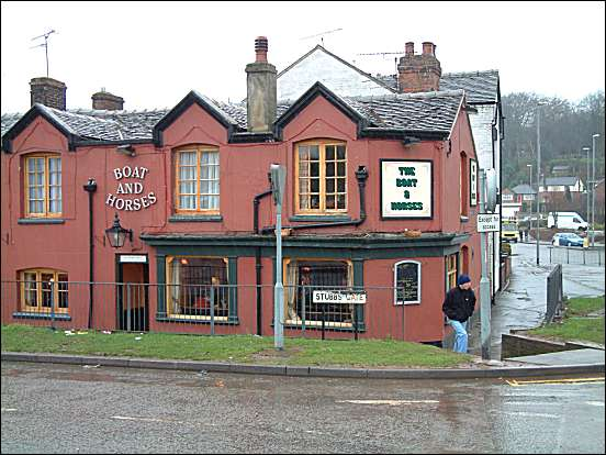 The Boat and Horses pub in Stubbs Lane