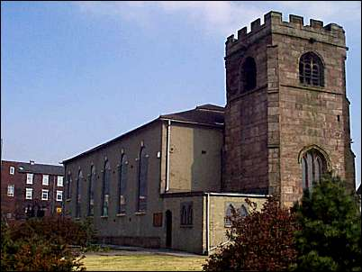 St. John the Baptist - the parish church of Burslem
