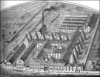 Cliffe Vale Works from an 1893 journal