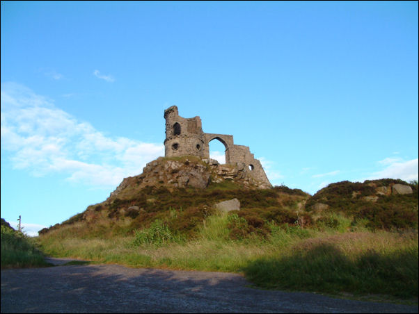 Mow Cop -to the north of Tunstall