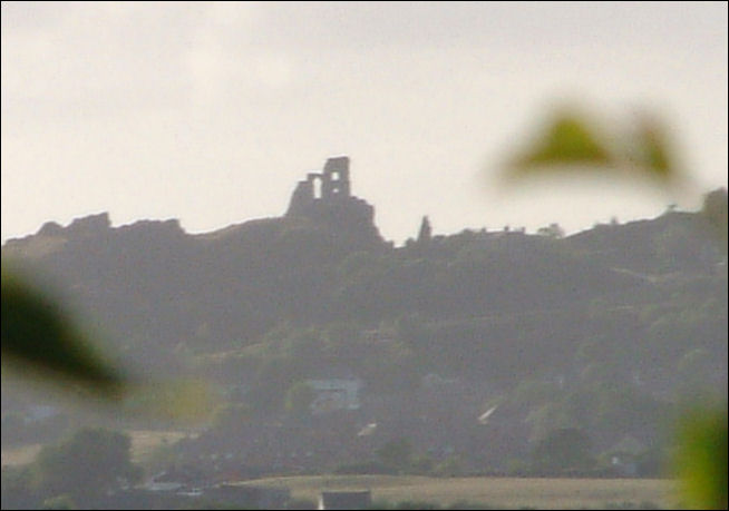 a distant view of Mow Cop