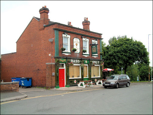 View of the Golden Cup on Old Town Road, Hanley