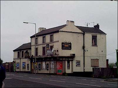 Out of Town pub - Hanley (Near Green)