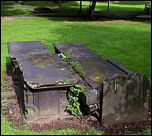 Chest Tombs and Headstone of Carr, Warburton & Berry