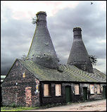 Bottle Kilns at Falcon Pottery
