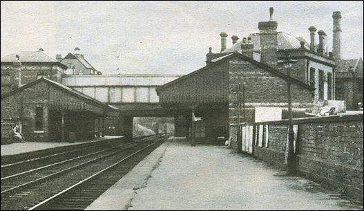 Burslem station in 1955
