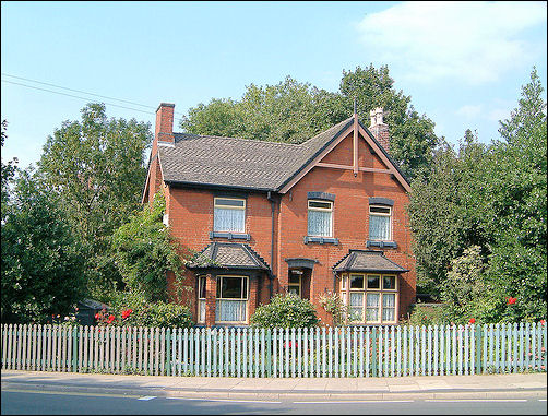 Stationmasters house on Moorland Road