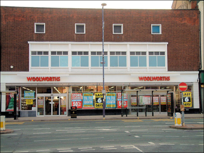'retailers such as Woolworths disappearing forever'