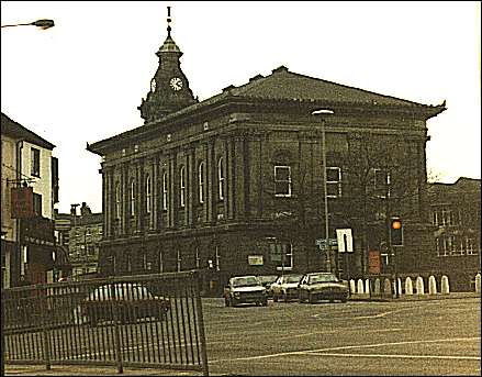 the Town Hall in 1987