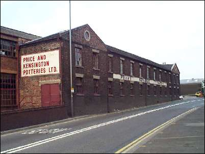 Price & Kensington Potteries Ltd
