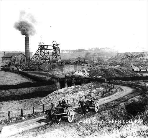 Adderley Green Colliery - 1925