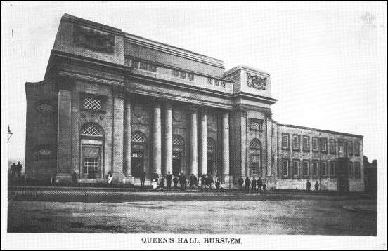 Postcard of Queen's Hall, (c1913)