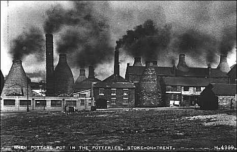 """When Potters Pot in the Potteries, Stoke-on-Trent"""