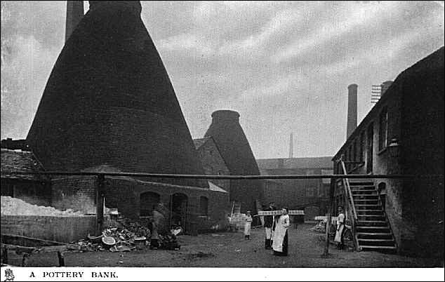 The Park Works of Charles Allerton, High Street, Longton