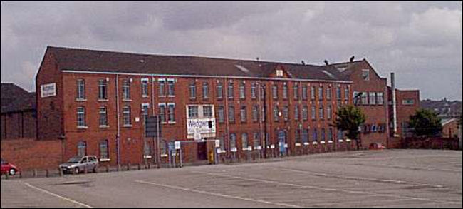 the Alexandra Works, Tunstall in 2000