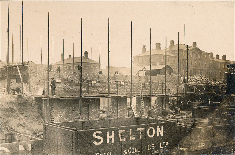 The building of a new by-product plant at Shelton Steel & Coal Co Ltd - 1922/23