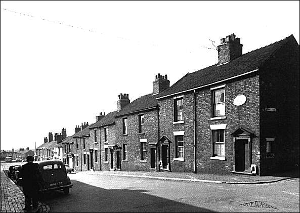 houses in John Street, Hanley - built 1807