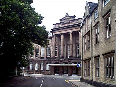 Stoke Town Hall The view from Brook Street.