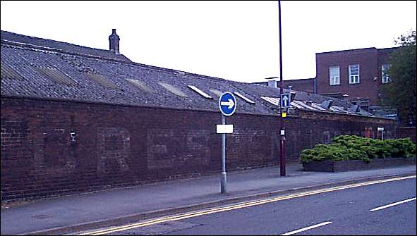 the painted name on the wall on Flemming Road reads 'Crescent Pottery'