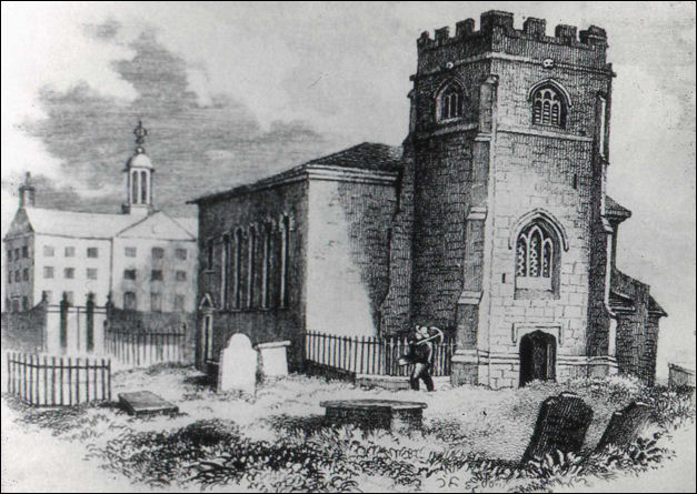 The Church of St. John the Baptist c.1840