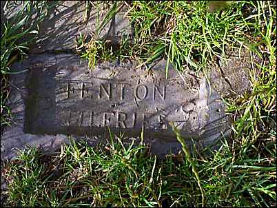 Brick from Fenton Tileries