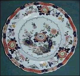 "Hicks, Meigh & Johnson ""Stone Ware"" plate"
