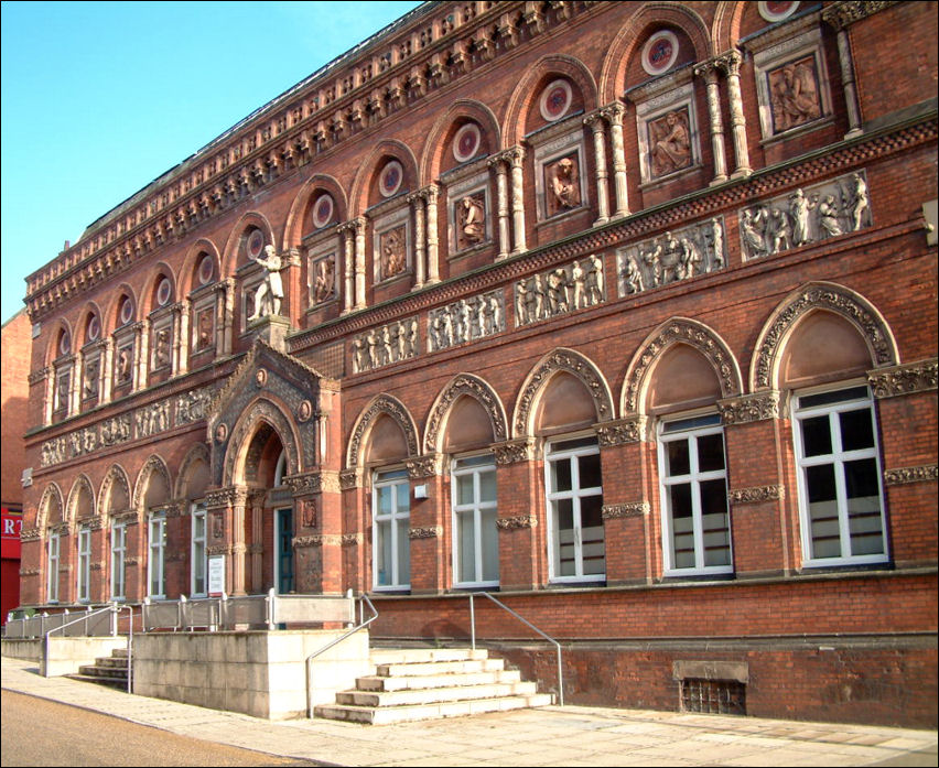 The Wedgwood Institute, Queen Street, Burslem