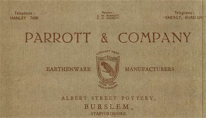 Parrott & Company - at the Albert Street Works